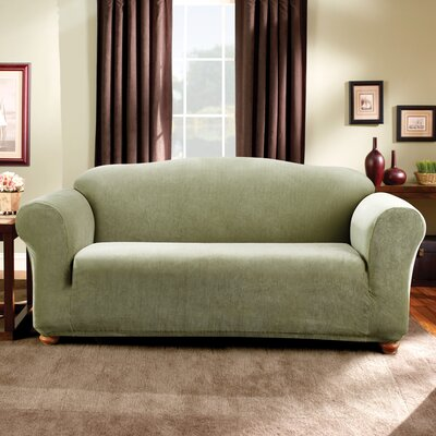 Stretch Madison Sofa Slipcover Upholstery: Sage