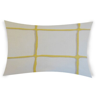 Combe Down Cotton Lumbar Pillow Color: Yellow