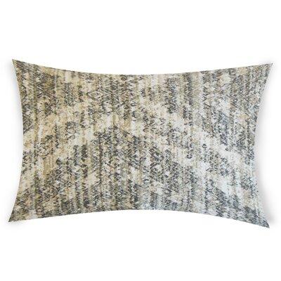 Nevitt Cotton Lumbar Pillow Color: Gray