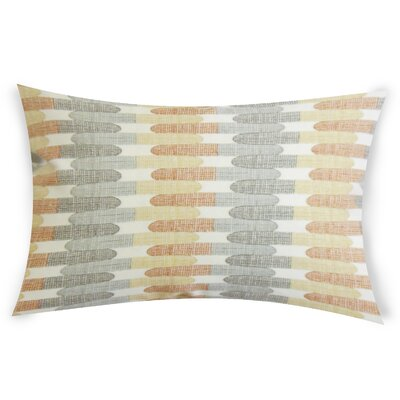 Cantero Cotton Lumbar Pillow Color: Gray