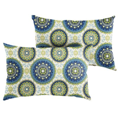 Merle Indoor/Outdoor Lumbar Pillow Size: 12 x 24