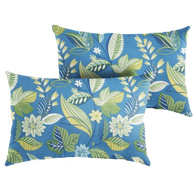 Whitlow Floral Indoor/Outdoor Lumbar Pillow Size: 13 x 20