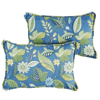 Whitlock Floral Indoor/Outdoor Lumbar Pillow Size: 13 x 20
