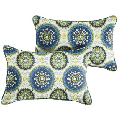 McNamara Indoor/Outdoor Lumbar Pillow Size: 13 x 20
