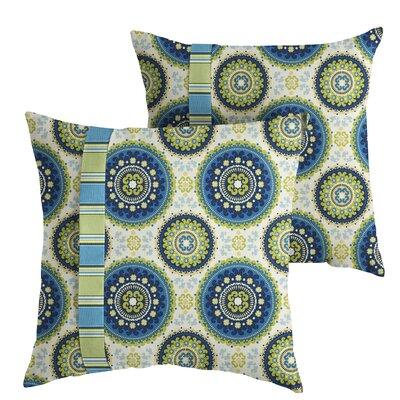 Meidanis Indoor/Outdoor Throw Pillow Size: 18 x 18