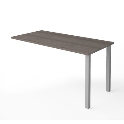 Prattsburgh 29.6 H x 59.3 W Desk Return Finish: Bark Gray