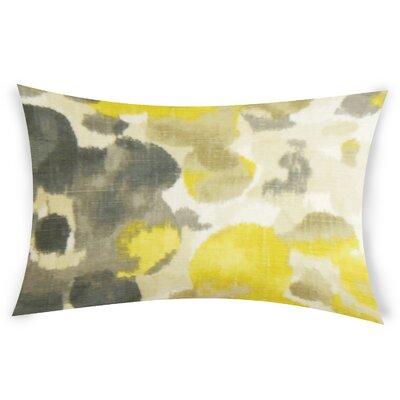 Odenton Linen Lumbar Pillow Color: Yellow