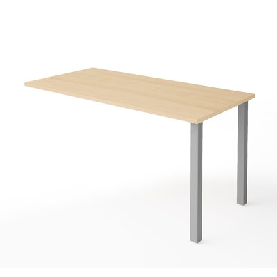 Prattsburgh 29.6 H x 59.3 W Desk Return Finish: Northern Maple