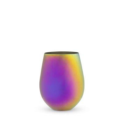Mirage Plastic 16 oz. Stemless Wine Glass