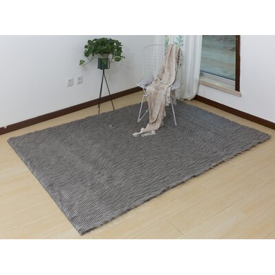 Lees Hand-Woven Gray Area Rug
