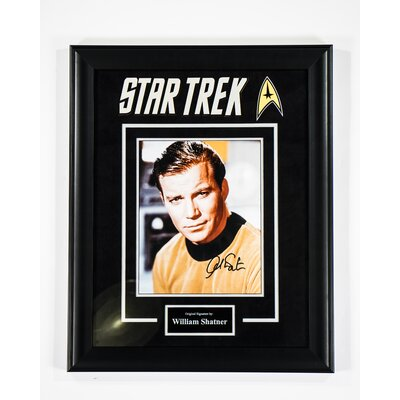 "Star Trek"" Framed Autographed  Photograph S-TREK-WSHAT"