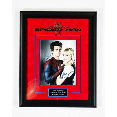 "The Amazing Spider Man"" Framed Autographed Photograph S-SPDRM"