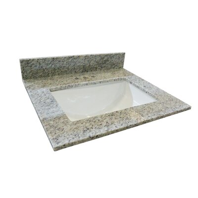 Granite Bowl 25 Single Bathroom Vanity Top