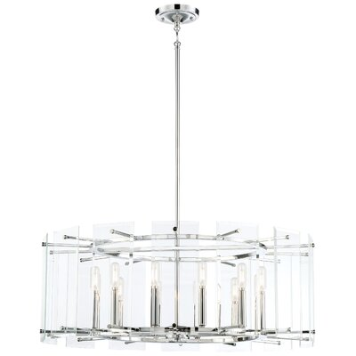 Orner 12-Light Drum Pendant
