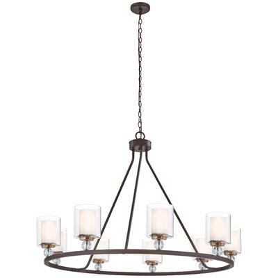 Gipe 9-Light Candle-Style Chandelier
