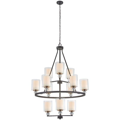Gipe 12-Light Candle-Style Chandelier