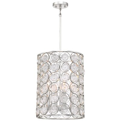 Ladwig 4-Light Drum Pendant