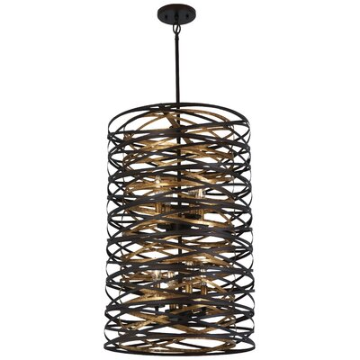 Harnett 8-Light Geometric Pendant