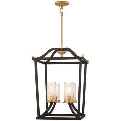 Helmer 4-Light Foyer Pendant