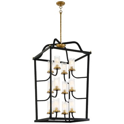 Helmer 12-Light Foyer Pendant