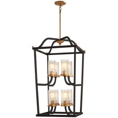 Helmer 8-Light Foyer Pendant