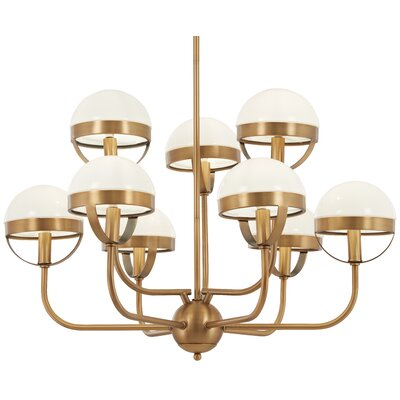 Philippa 9-Light Candle-Style Chandelier