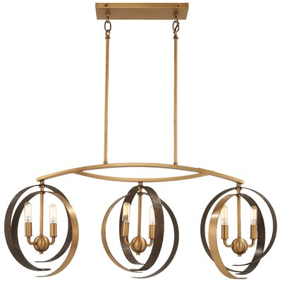 Philomena 6-Light Kitchen Island Pendant