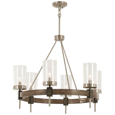 Lipton 6-Light Candle-Style Chandelier
