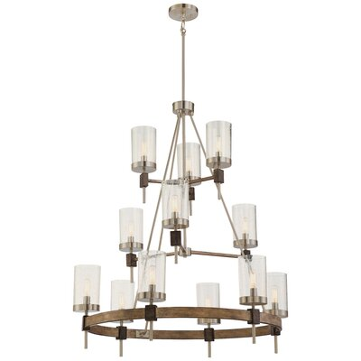 Littell 12-Light Candle-Style Chandelier