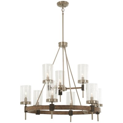 Lisle 9-Light Candle-Style Chandelier
