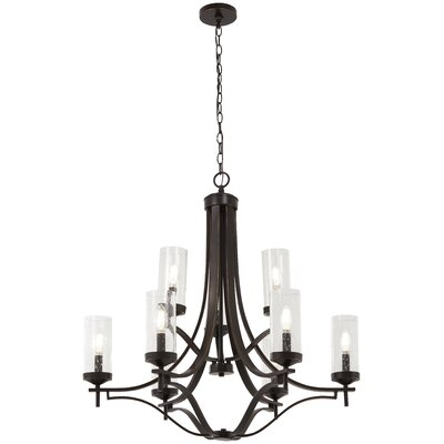 Mauch 9-Light Candle-Style Chandelier