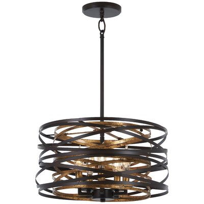 Harnett 5-Light Geometric Pendant