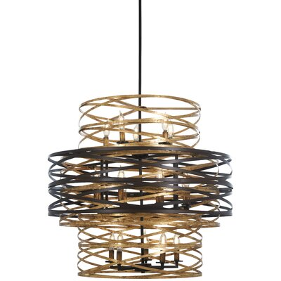 Harnett 18-Light Geometric Pendant