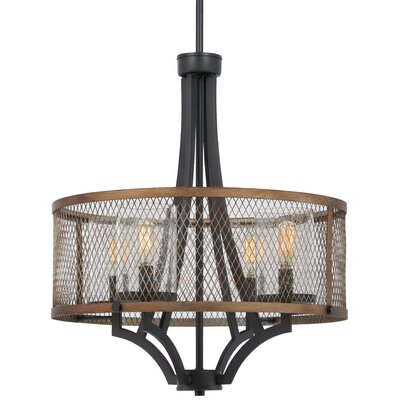 Croy 4-Light Drum Pendant