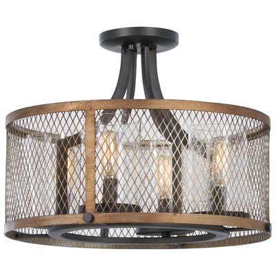 Croy 4-Light Semi Flush Mount