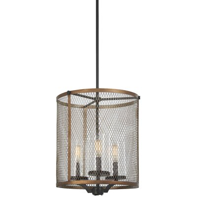 Croy 3-Light Drum Pendant
