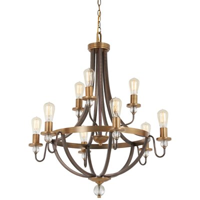 Mauer 9-Light Candle-Style Chandelier