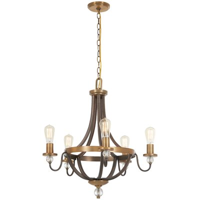 Mauer 5-Light Candle-Style Chandelier