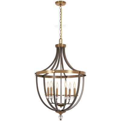 Mauer 6-Light Foyer Pendant