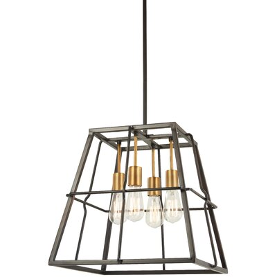 Croyle 4-Light Foyer Pendant