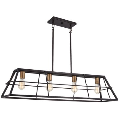 Croyle 4-Light Kitchen Island Pendant