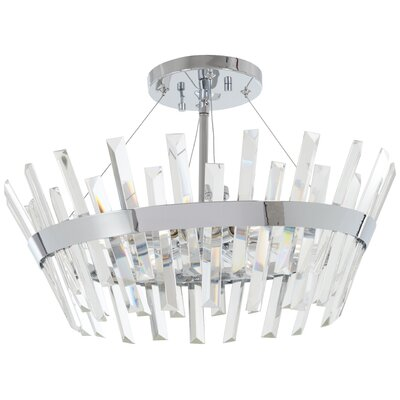 Laffoon 6-Light Semi Flush Mount
