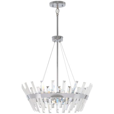 Laffoon 6-Light Geometric Pendant