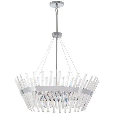 Laffoon 10-Light Geometric Pendant