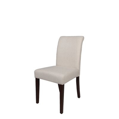 Chatmon Upholstered Dining Chair Upholstery Color: White