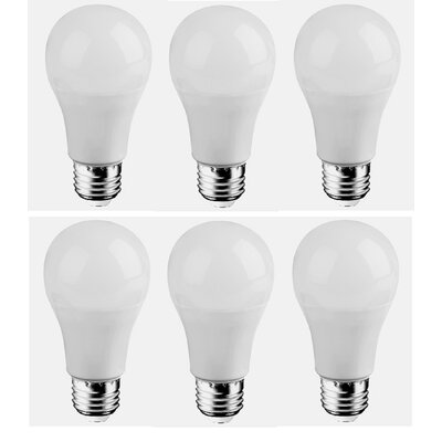 7W E26/Medium LED Light Bulb Bulb Temperature: 3000K
