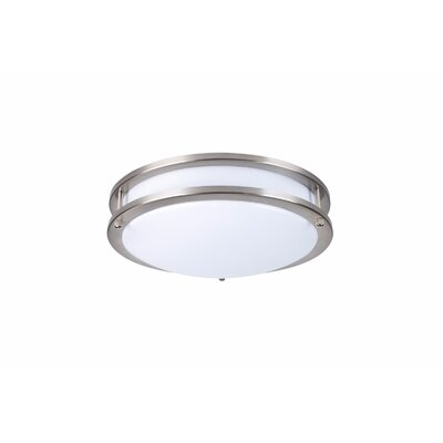 Flush Mount Bulb Temperature: 5000, Lumen: 1050