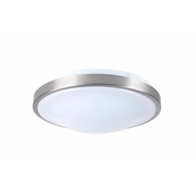 Flush Mount Bulb Temperature: 5000, Lumen: 1400