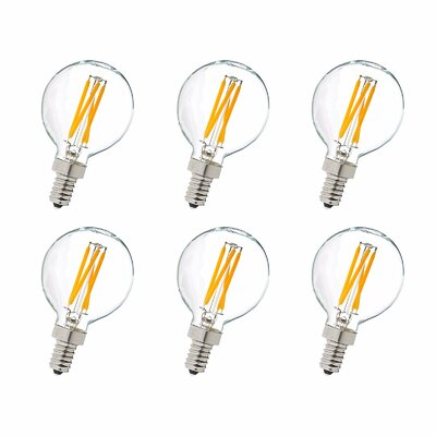 4W E12/Candelabra LED Vintage Filament Light Bulb