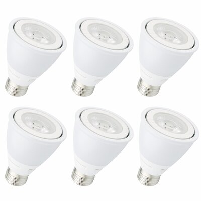 8W E26/Medium LED Light Bulb Bulb Temperature: 3000K